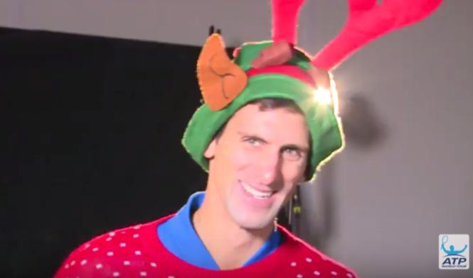 Djokovic Victory Lap